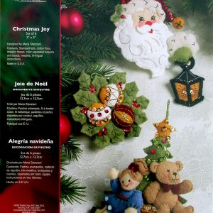 Bucilla Felt Christmas Ornament Kits