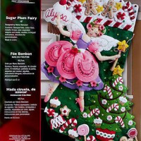 Current Bucilla Christmas Felt & Cross Stitch Kits