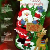 Bucilla Felt Christmas Stocking Kits