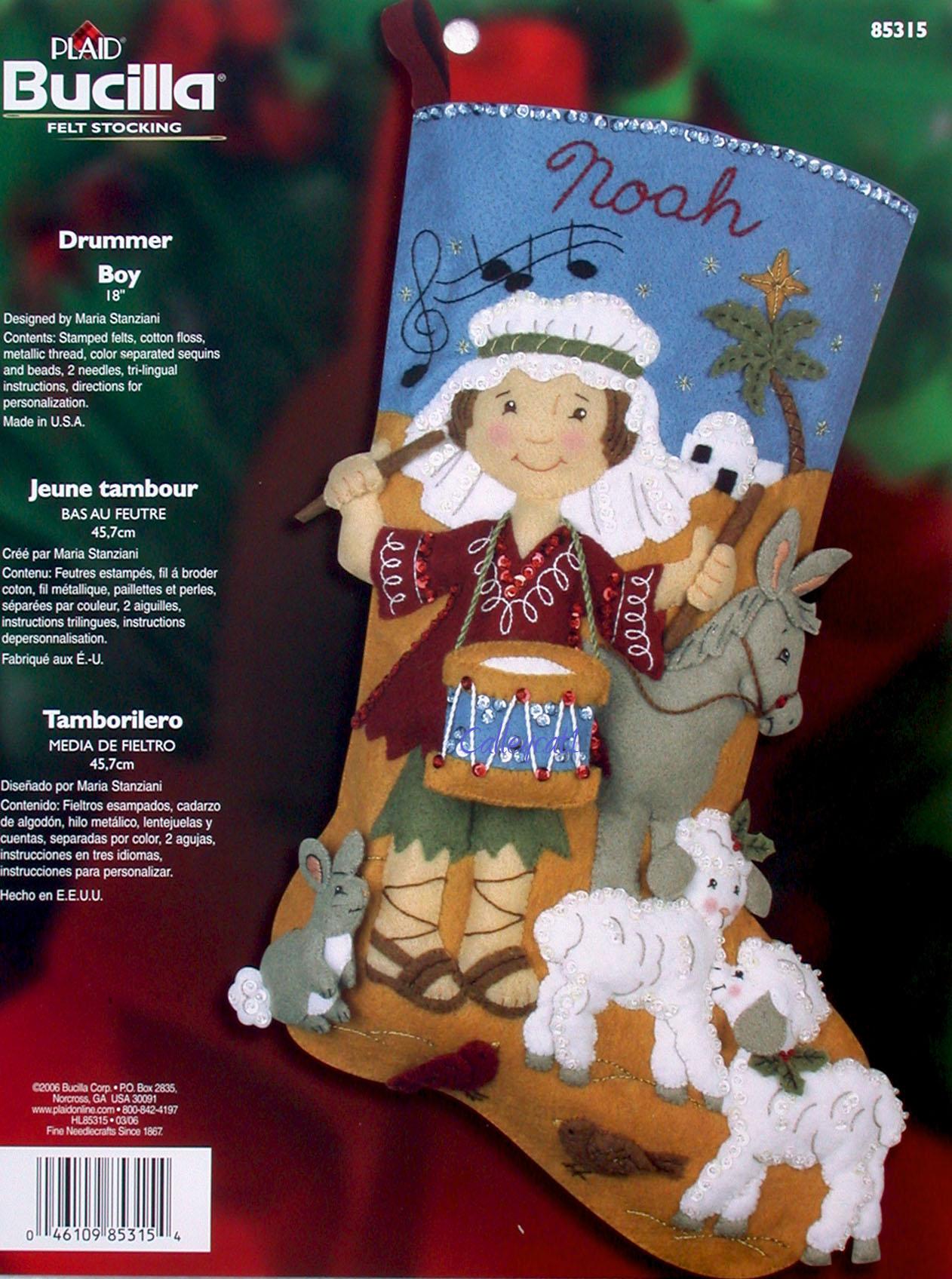 Christmas Felt Stocking