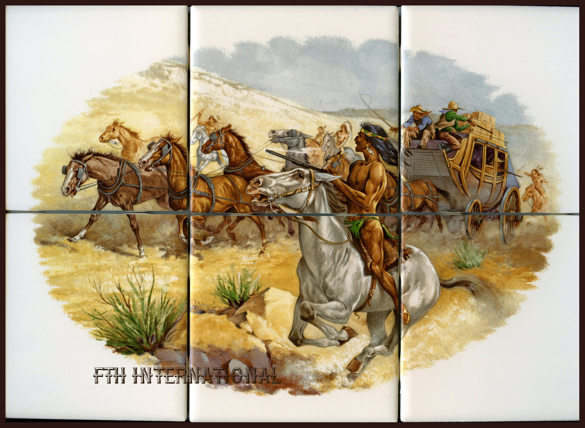 Ceramic tile murals fth international sales ltd ceramic tile murals doublecrazyfo Images