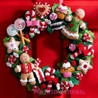 86264 Wreath and Candy OrnsC1FTH