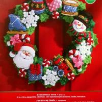 86363 Christmas Toys Wreath FCwm1
