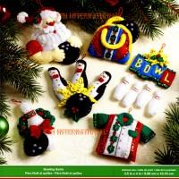 86453FCwm1R bowling ornaments
