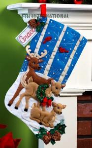 86502FCwm1 Deer Family