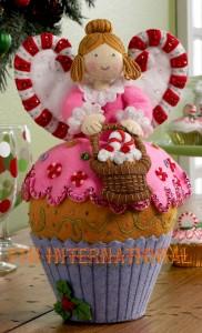 86209 cupcake angel HD 6inCwmr