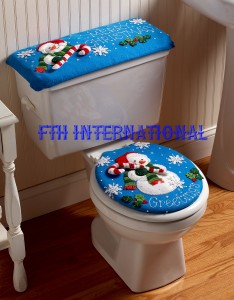 86155 Snowman Bath Ensemble Kitwm