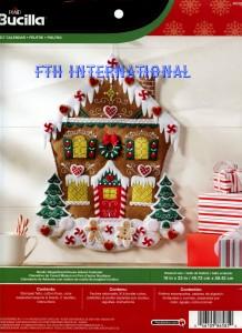86585 Nardic Gingerbread House Advent CalendarFwmR1 img170