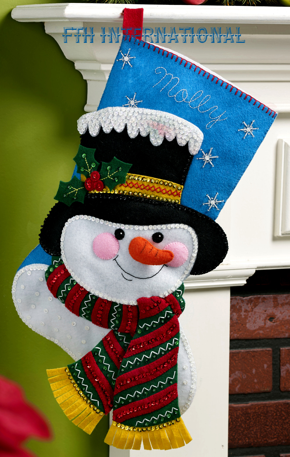 Christmas Stocking Kits Felt
