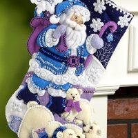 86653FCWMR2 Arctic Santa