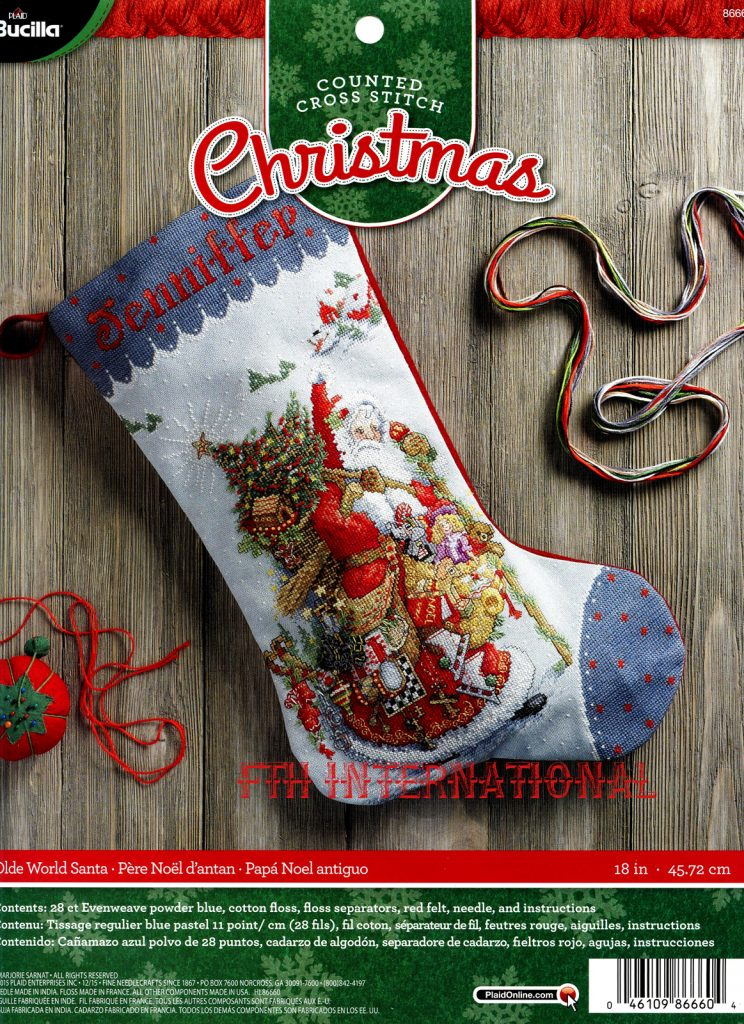 Bucilla Christmas Tree Skirt Kits