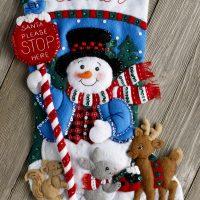 86707FCWMR2 Santa Stop Here