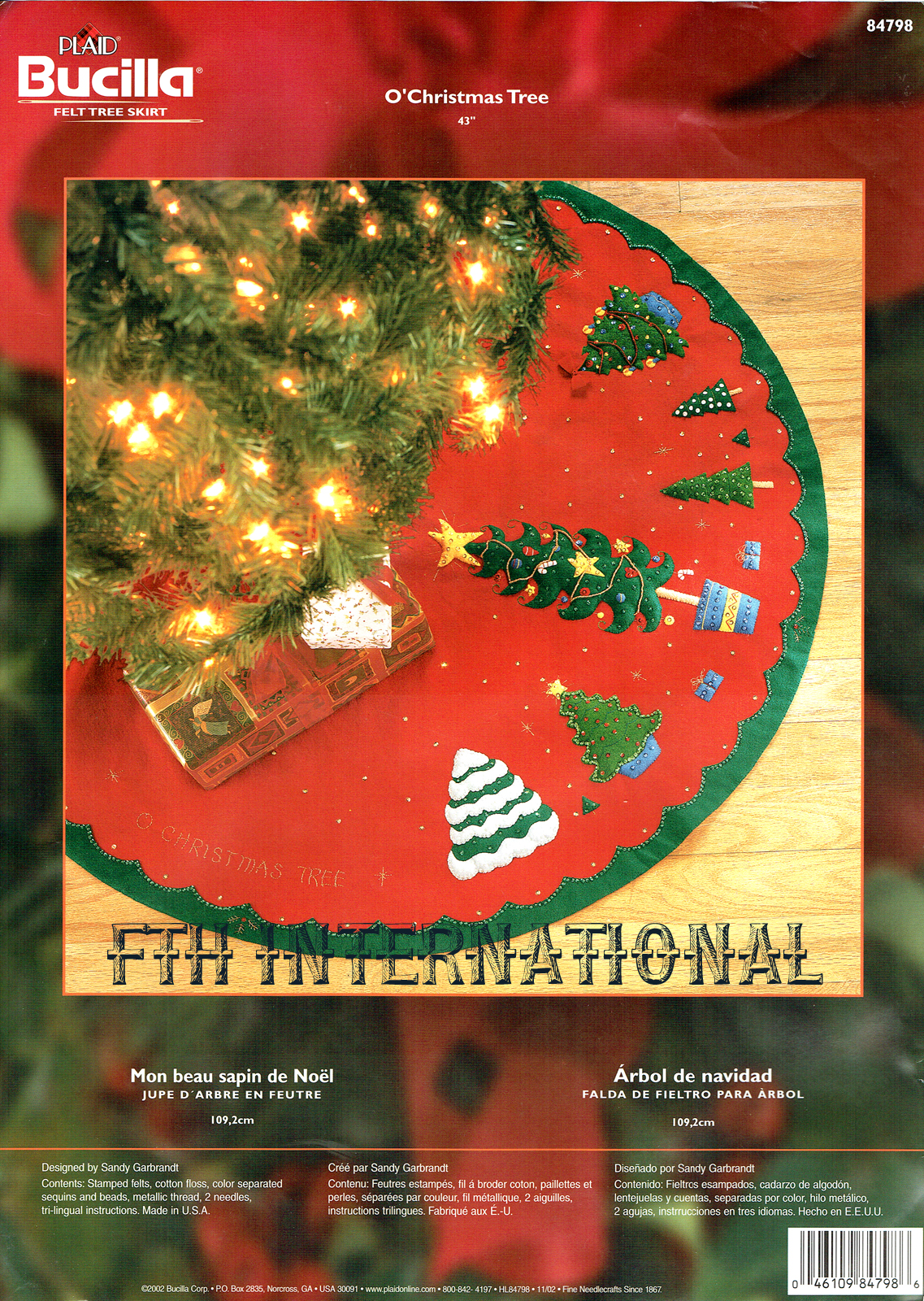 Christmas Tree Skirt Pattern Martha Stewart