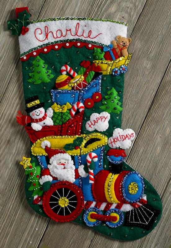 Bucilla Felt Christmas Ornament Kits
